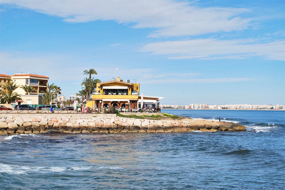 Karta Fran Alicante Till Torrevieja.Punta Prima Skandiamaklarna