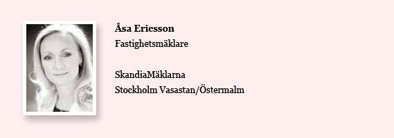 Åsa Ericsson SkandiaMäklarna om marknadsläget