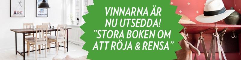 Vinnarna i Röja och Rensa-tävlingen utsedda!